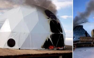 Bolivianos queimam cúpulas de empresa estrangeira e definem seu despejo do Salar de Uyuni