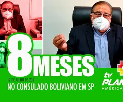 Rolando Bulacios - 8 meses no consulado geral da Bolívia em São Paulo