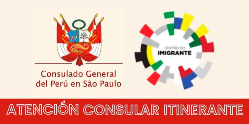 Consulado peruano irá atender no Brás em São Paulo
