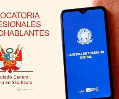 Oferta de trabalho a profissionais hispanofalantes em SP