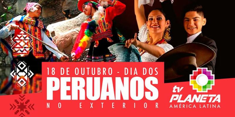 18 de outubro - Dia dos Peruanos no Exterior
