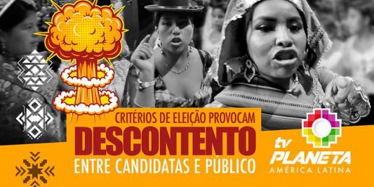 Candidatas indignadas pelo resultado do evento Rainha dos Imigrantes 2021 da Rádio Cultura Andina