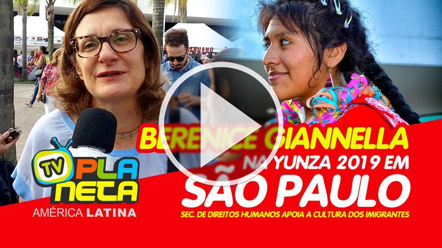 Secretária municipal de Direitos Humanos visita a YUNZA Carnaval Andino 2019