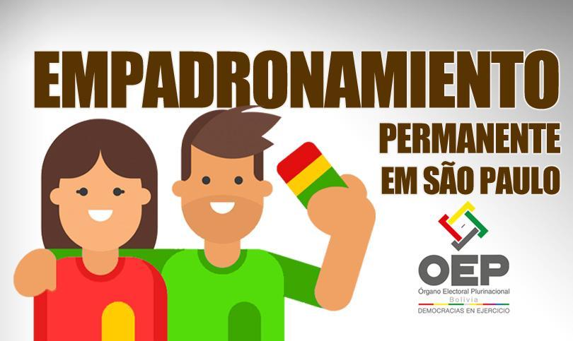 Empadronamiento Permanente boliviano em São Paulo