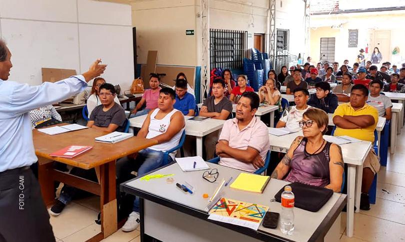 Início de cursos do CAMI para imigrantes e refugiados