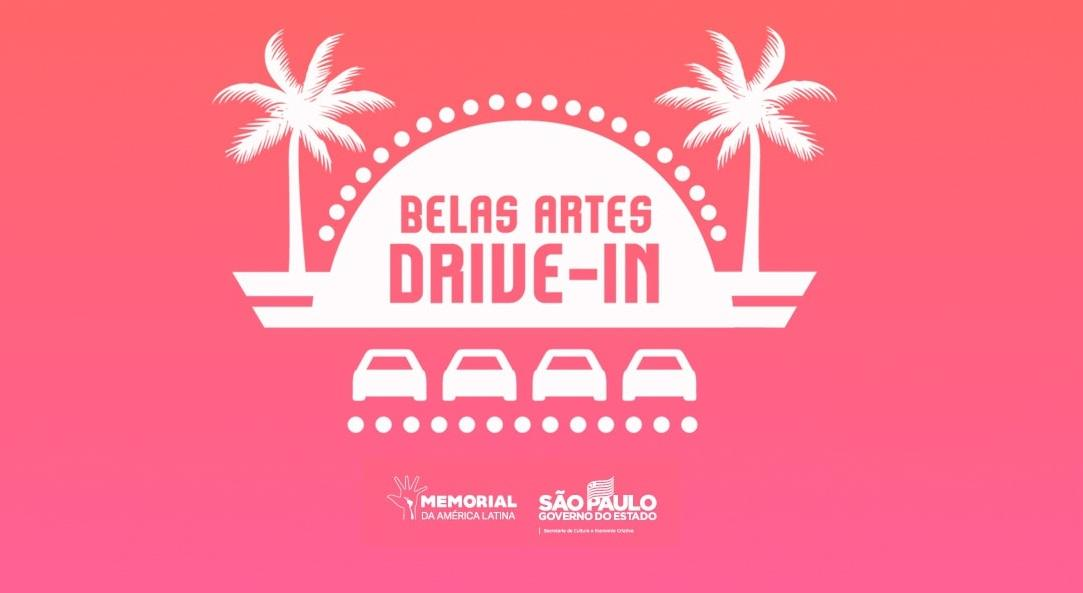Belas Artes Drive-in no Memorial da América Latina