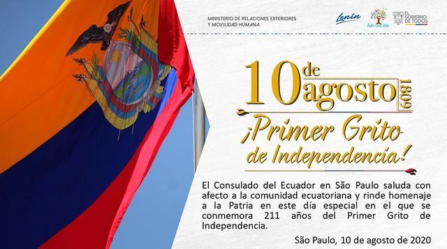 Primeiro grito da independência Equatoriana