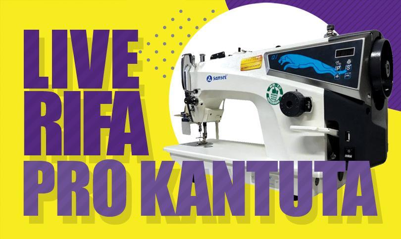 RIFA em prol da Feira Kantuta sorteia máquina de costura eletrônica