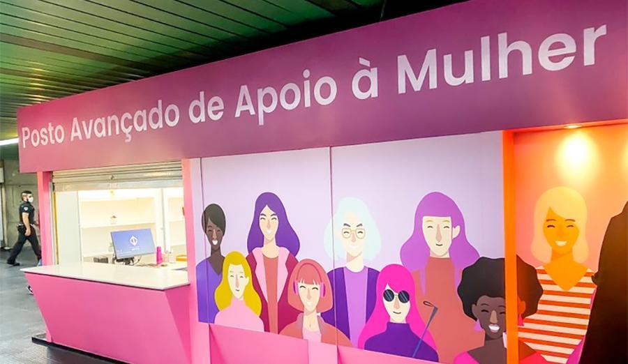 Prefeitura e Metrô abrem Posto Avançado de Apoio à Mulher