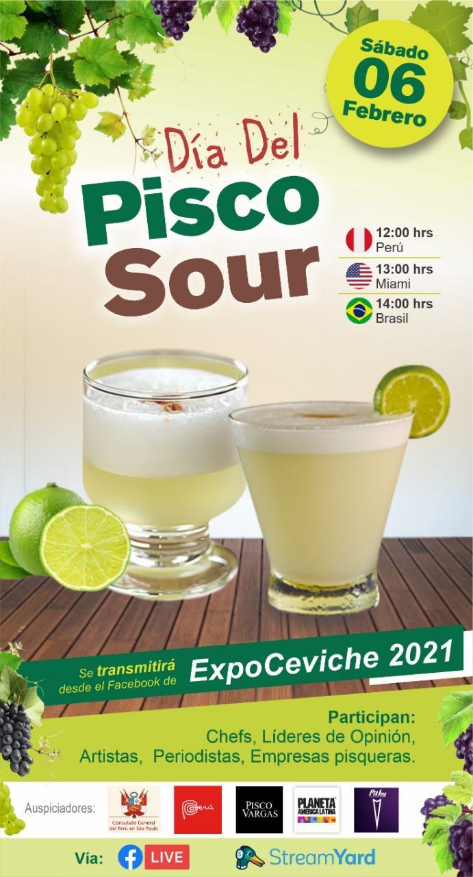 Live - Dia del Pisco Sour PERUNAO