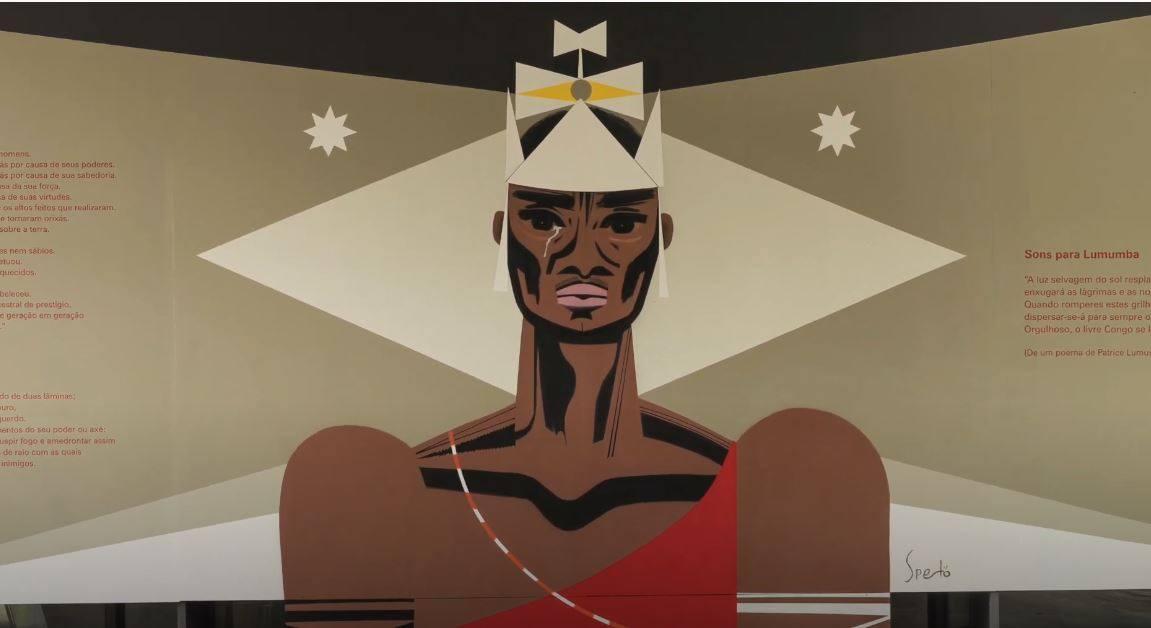 Exposição - Foram os homens e mulheres negras que construíram a identidade nacional.