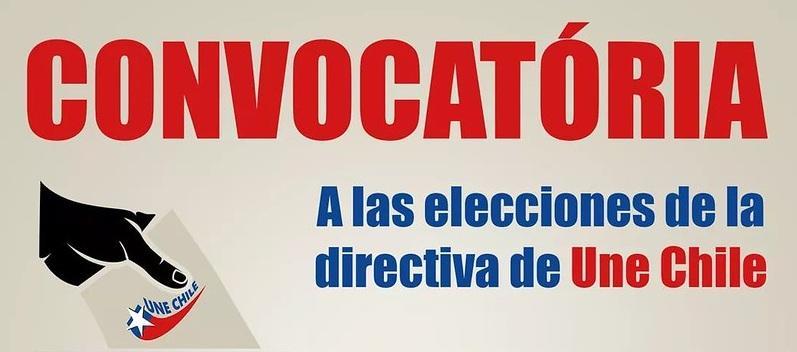 Eleição de diretiva da UNE CHILE em São Paulo