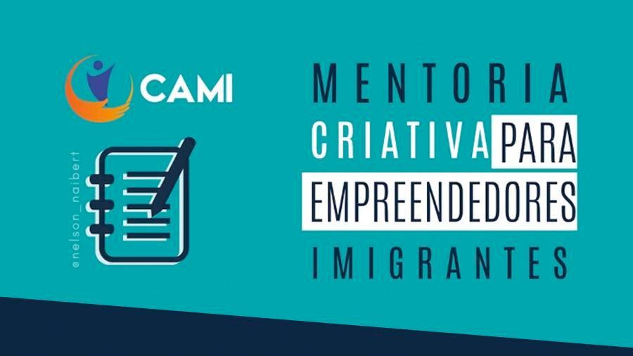 Palestra - MENTORIA CRIATIVA direcionada para imigrantes empreendedores