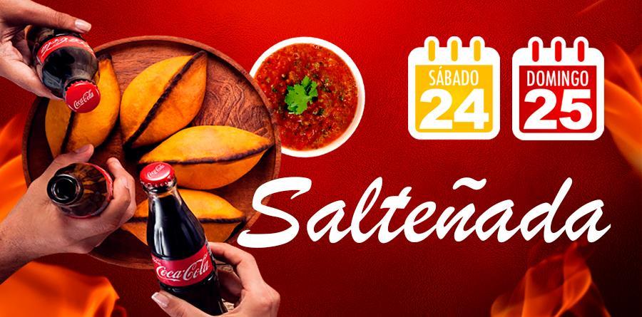 Festival de Salteñada na Coimbra no sitema Delivery