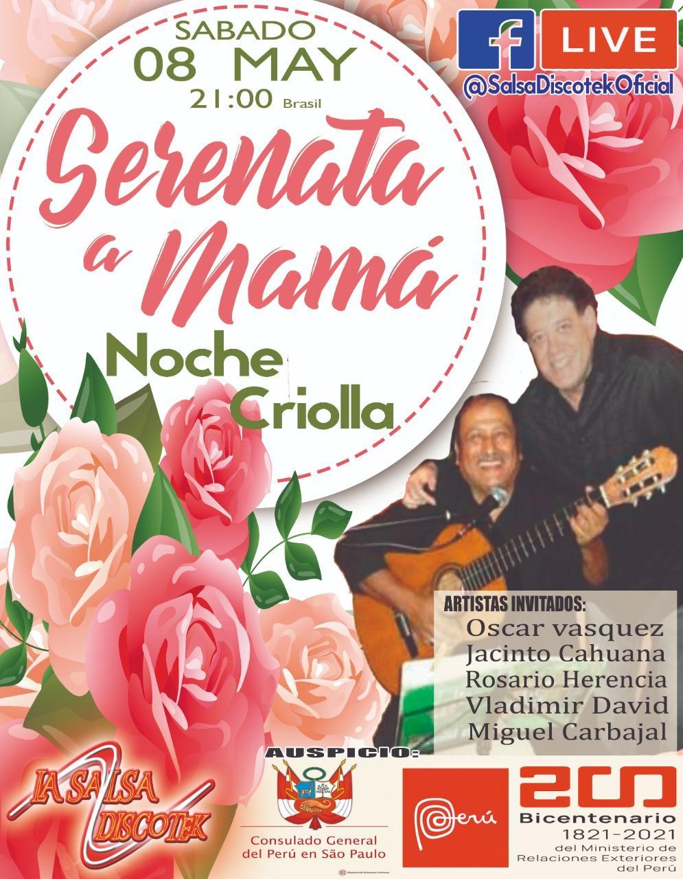 LIVE - Serenata em homenagem para mamãe