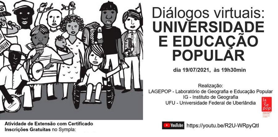 Diálogos Virtuais: Universidade e Educação Popular