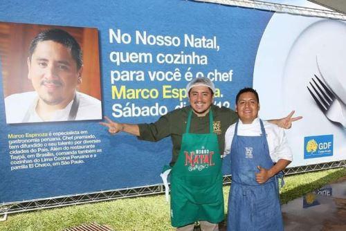 Marco Espinoza e seu sabor peruano pelo qual o paladar brasileiro é apaixonado